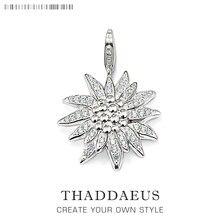 قلادة Edelweiss ، 2019 شتاء 925 فضة مجوهرات الأزياء أوروبا نمط بيجو العصرية اكسسوارات هدية للمرأة