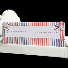 KOOLDOO Children Bed Fence Big Bed 1.8-2m Bed Crib 100% cotton Baby Anti Falling Bedside Guardrail