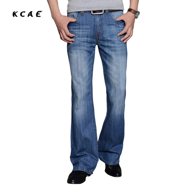 Aliexpress.com : Buy New Arrival 2017 Mens Flared Jeans Men's Bell ...