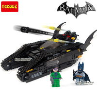 DECOOL Batman Bruce Wayne Tumbler 7787 BAT TANK THE RIDDLER THE DARK KNIGHT Assemble Minifigures Building