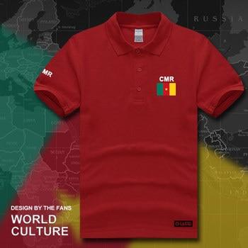 Cameroun polos hommes manches courtes