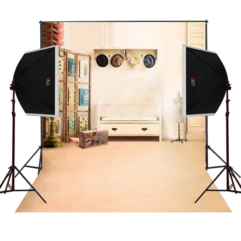 suitcase wooden closet for wedding photo background backdrop studio camera fotografica digital props vinyl photography cloth