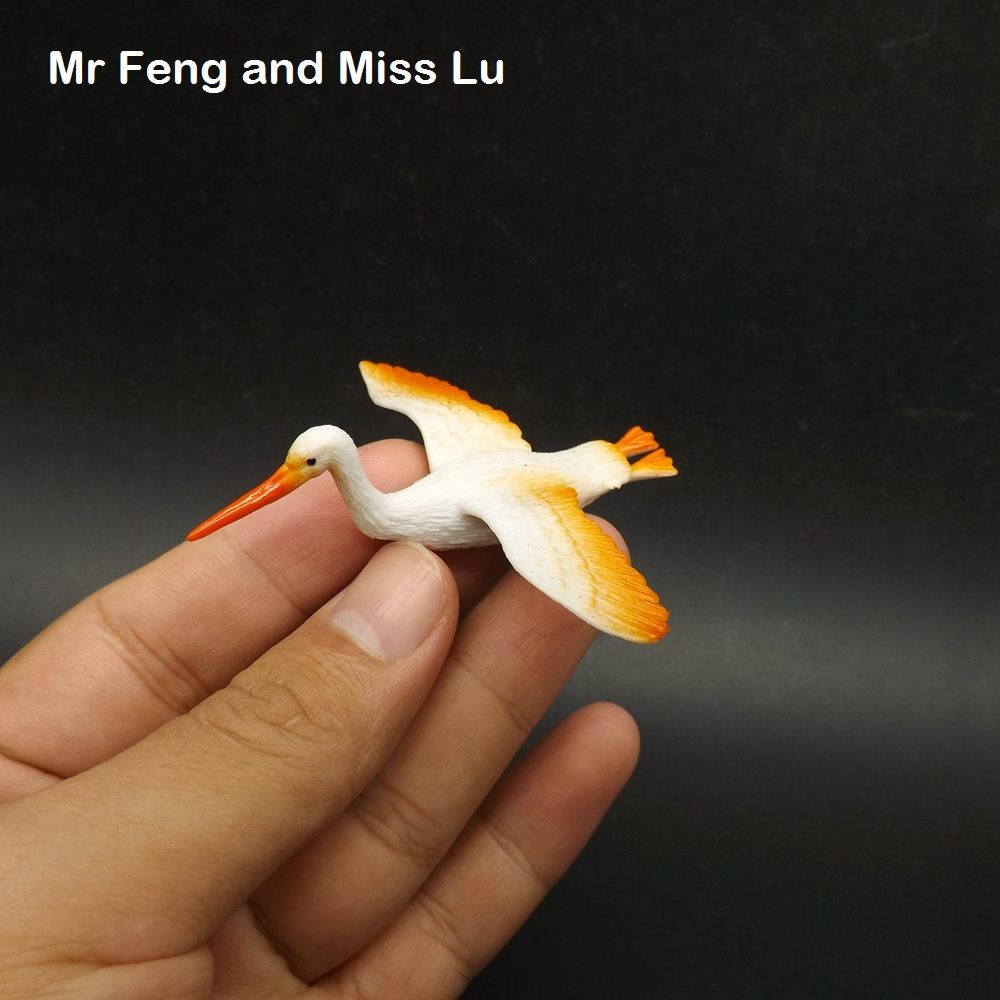 Mini Bird Flying Crane Early Head Start Training Game Toy
