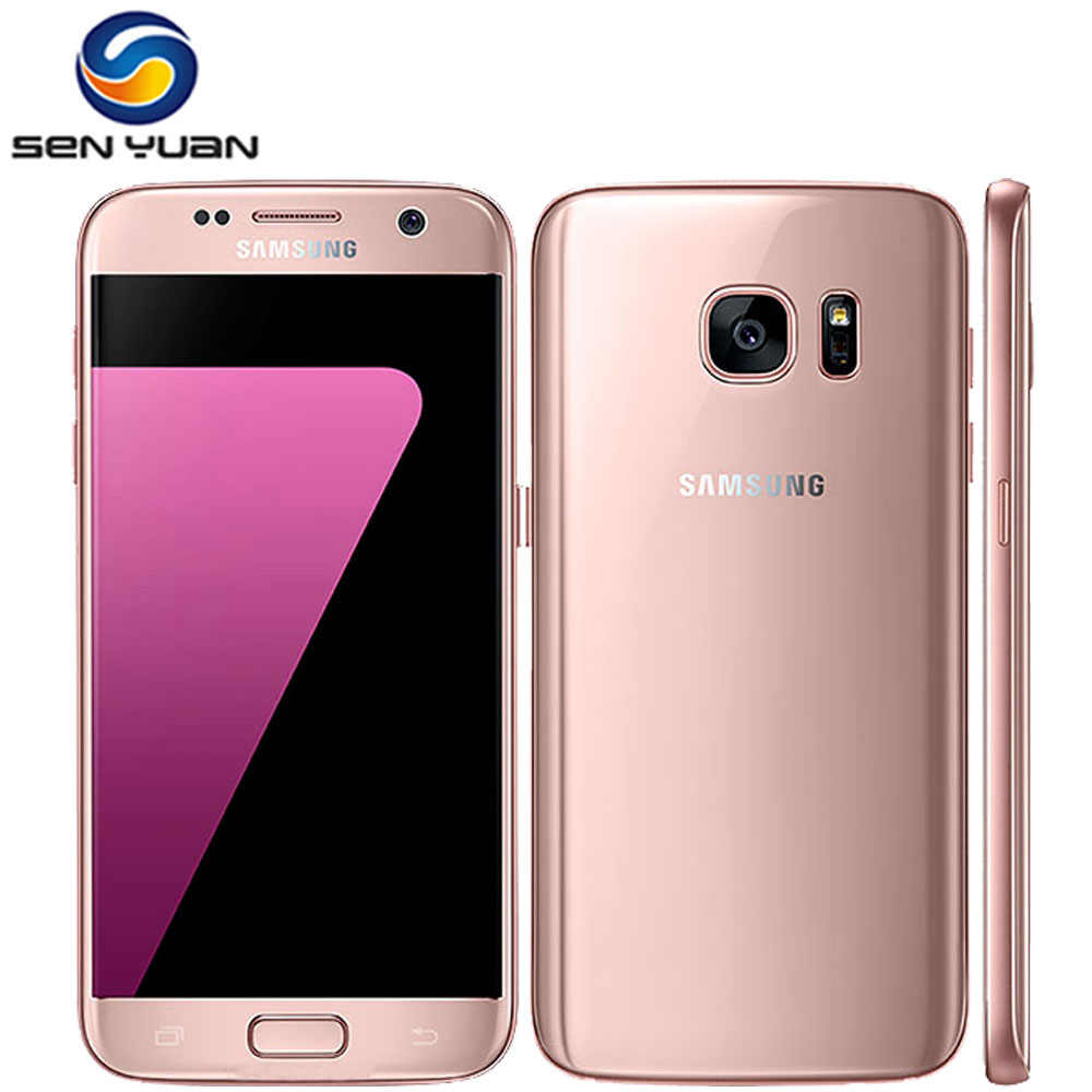 Original Unlocked Samsung Galaxy S7 G930A G930F Mobile Phone