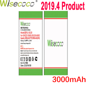 WISECOCO 3000mAh Battery For GINZZU S5001 S5120 S5002 Mobile Phone Latest Production High Quality Battery+Tracking Number(China)