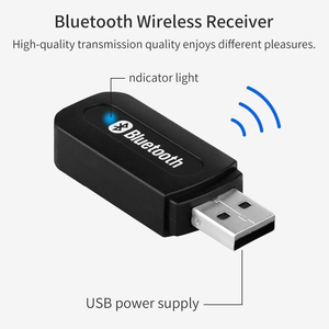 Image 2 - Bluetooth 2,1 Empfänger Dongle 3,5mm Jack Wireless Stereo Musik Audio Receiver USB Adapter für Auto AUX Android/IOS handy
