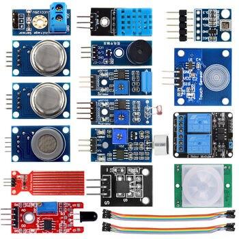 16 в 1 сенсор модули проекта Starter наборы для Arduino Raspberry Pi умный дом >> Vership Co., Ltd