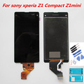 For Sony Xperia Z1 Compact Z1Mini D5503 LCD Screen Display With Touch Screen Digitizer +Tools + glue+films 100% tested