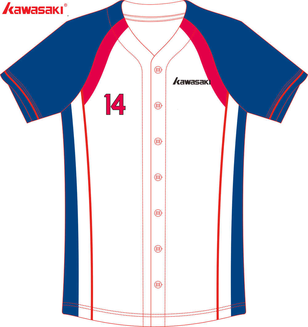 14d9d0493 ... Kawasaki Brand Custom Sublimation Breathable Baseball Jersey Men &  Women Children Player Fans Quick Dry Softball ...