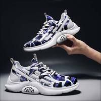 Camouflage Sneaker Mens Runing Shoes Casual 2019 New Male Breathable Sneakers Man Tourist Shoe Men Hiker Shoes