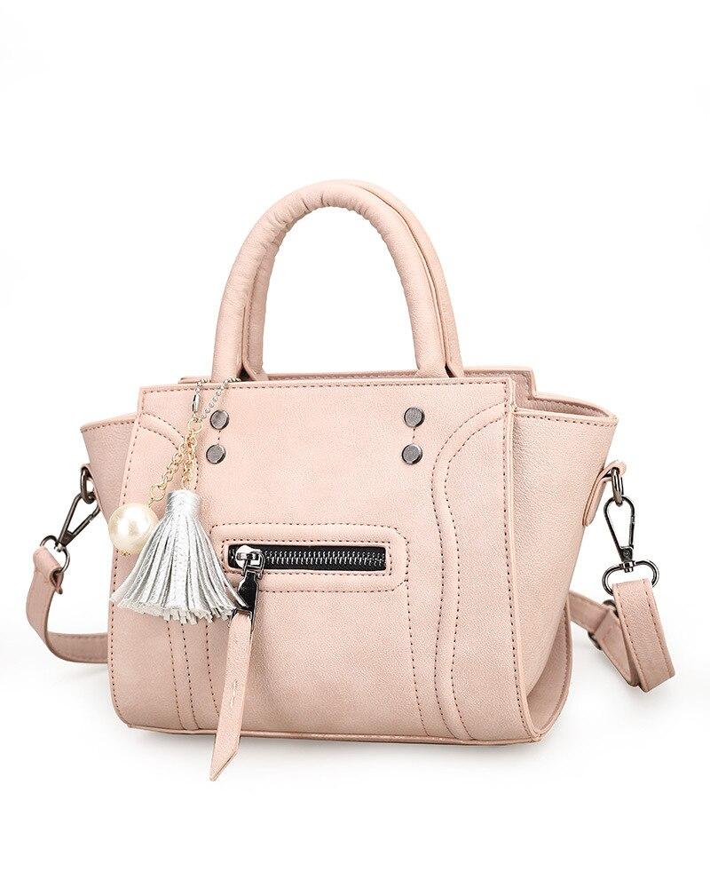 ФОТО Perfect# 2016 new Korean custom handbag simple wings all-match tassel Shoulder Messenger Bag. FREE SHIPPING