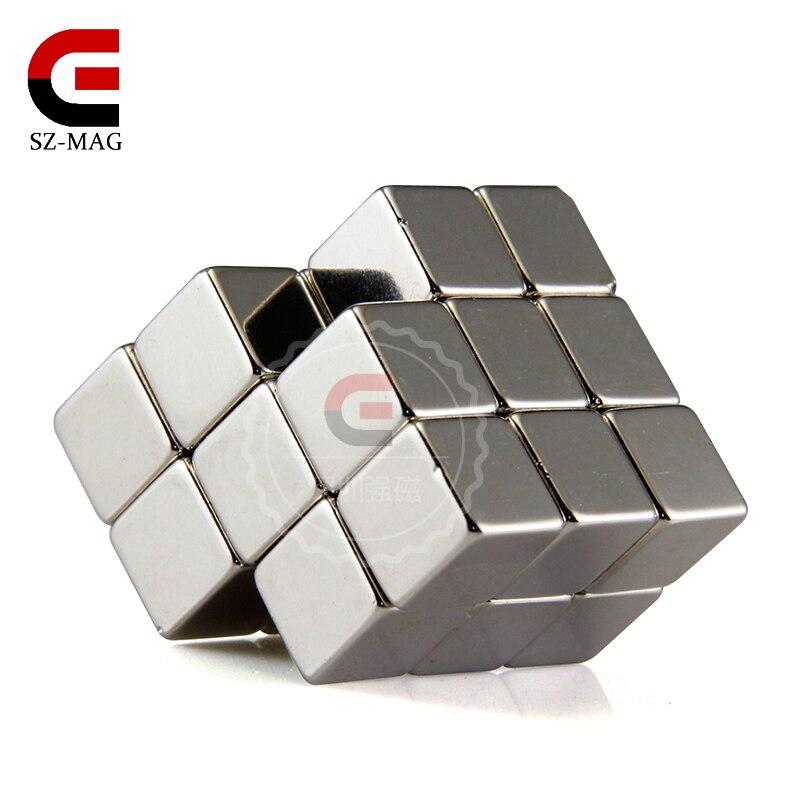 10pcs 10x10x10mm rare earth neodymium magnet Strong magnets cube strong magnets 10x10x10mm rare earth neodymium magnet 8pcs