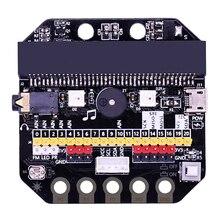 Базовая: Плата расширения бит IO горизонтального типа Pinboard Microbit pyton макетная плата для Micro: Bit New