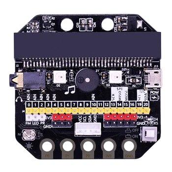Basic:Bit IO Expansion Board Horizontal Type Pinboard Microbit Python Development Board For Micro:Bit New 2019