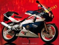 Hot Sales,For Honda CBR400RR Parts NC23 1987 1988 1989 CBR 400 RR 87 88 89 CBR 400RR Multi color Bodyworks Motorcycle Fairing
