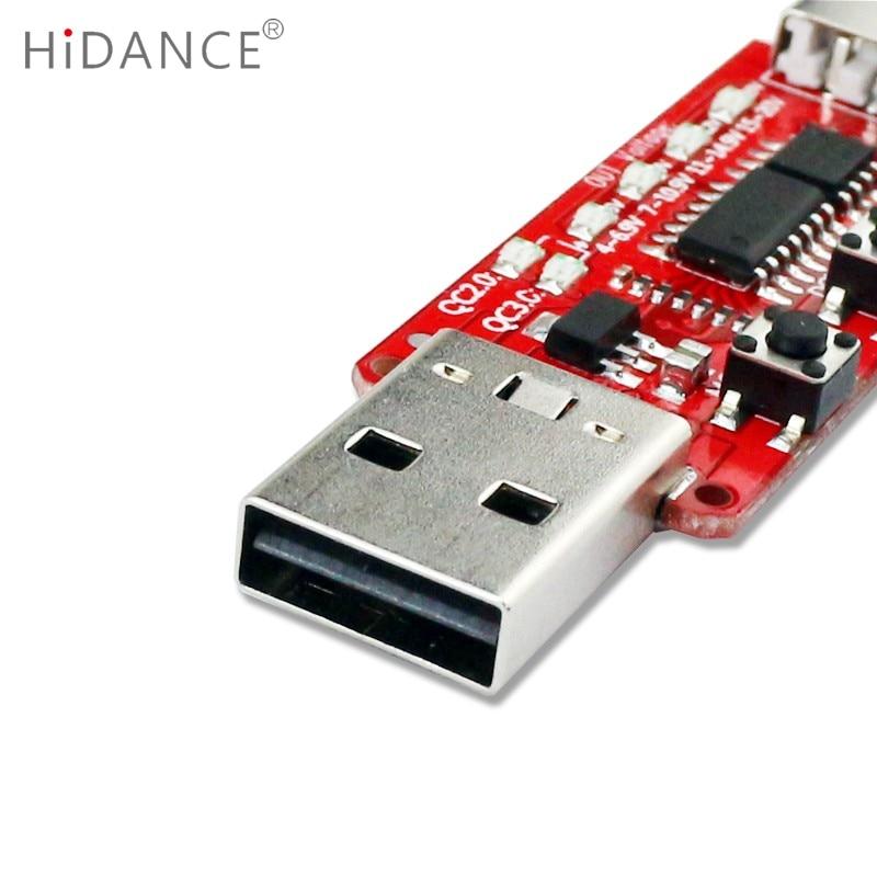 Qualcomm QC2.0 / 3.0 automaatne USB-testri mõõteriista pinge - Mõõtevahendid - Foto 5