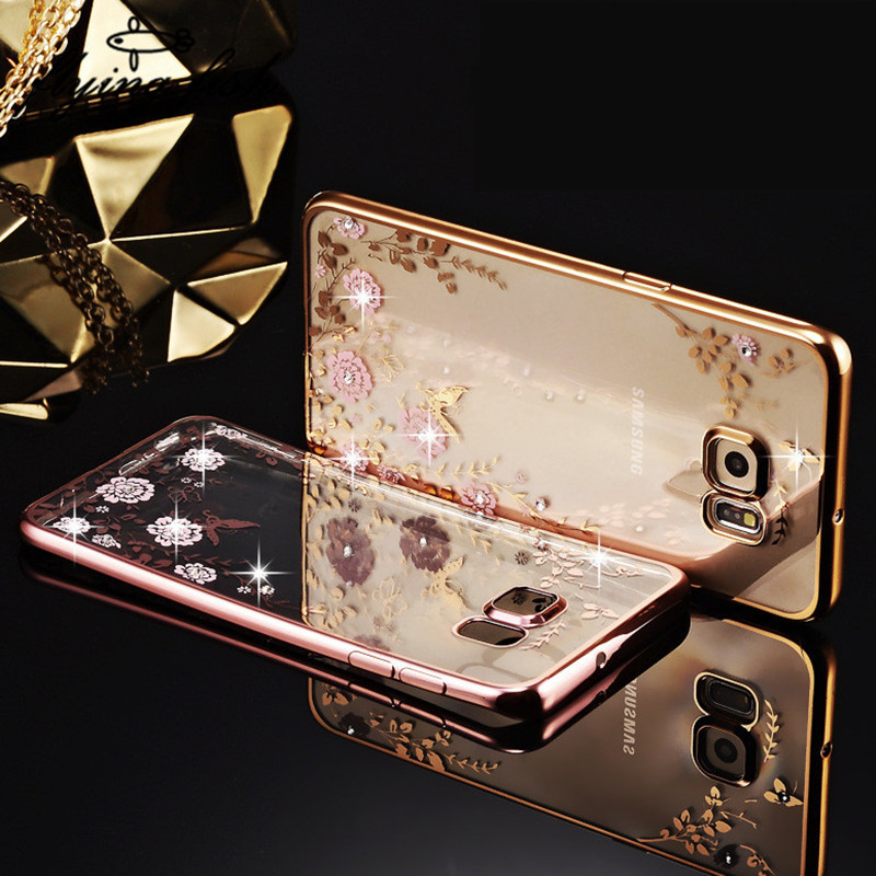 caso-para-samsung-galaxy-j2-j3-j5-j7-prime-2016-2017-silicio-claro-caso-luxo-bling-diamante-chapeamento-capa-mole-tpu-do-telefone-flor-casos