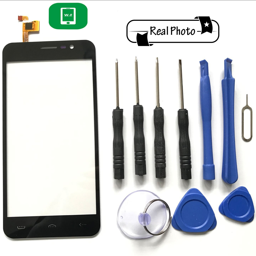 HOMTOM HT16 Touch Screen with Tools Glass Panel Accessories Smart Phone Replacement For HOMTOM HT16 Pro Smart Phone