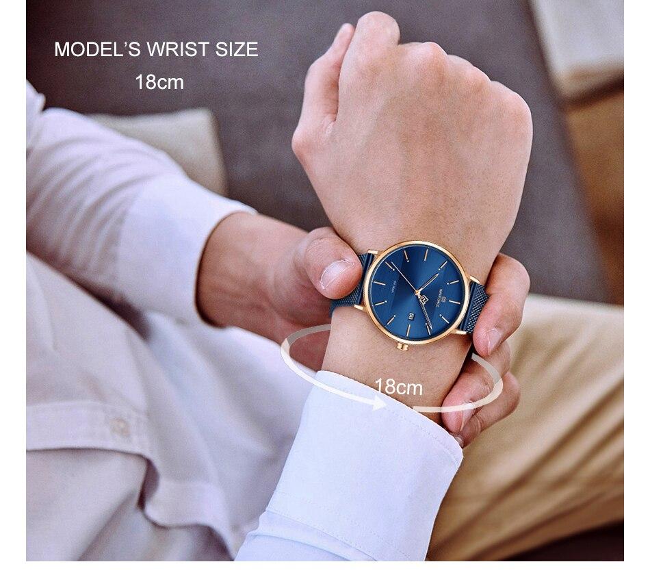 NAVIFORCE New Stylish Women Watches Top Brand Luxury Stainless Steel Strap Quartz Wristwatch For Woman Bracelet Watch 2019 Gift (6)