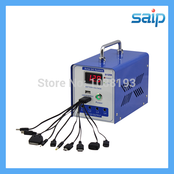 2014 newest hot sale mini solar generator    solor system with led without battery sp 1206h