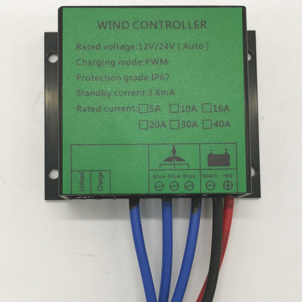 Sales Promotion 600W Waterproof Battery Charge Controller for Wind Turbine 12V/24V Auto