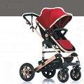 Luz cochecito paisaje de alta ventilación puede sentarse puede ser mentira cochecito de bebé paraguas madre y el niño suministros bebé carruajes