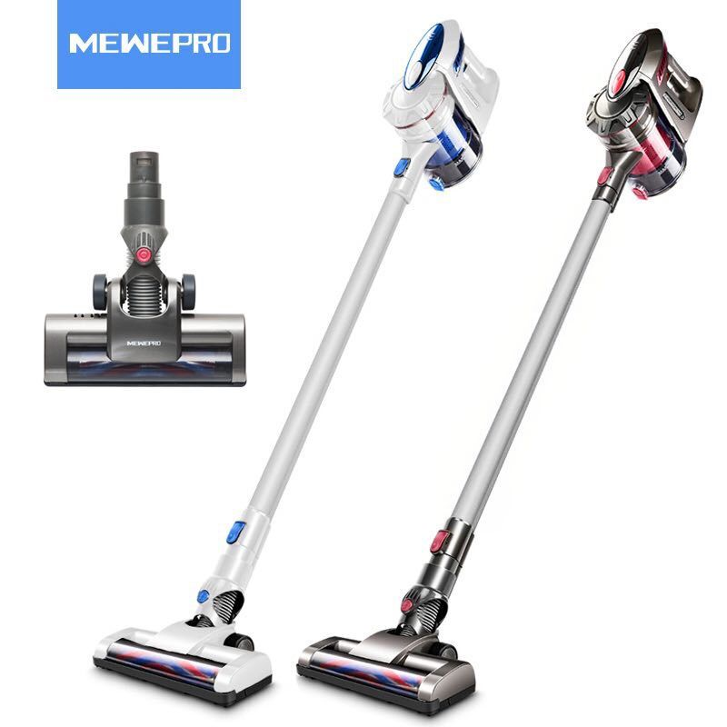 mewepro red cordless handheld vacuum cleaner for home car cyclone filter aspirator for home. Black Bedroom Furniture Sets. Home Design Ideas