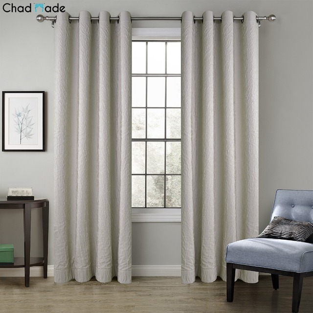 ChadMade Solid Crinkle Blackout Lined Curtain Drape Antique Bronze Grommet 1 Panel C For