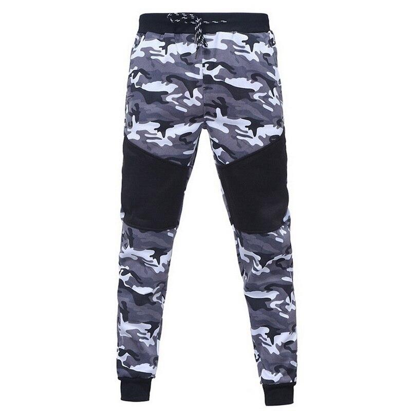 Laamei New Camouflage Printed Men Set Causal Patchwork Jacket Men 2Pcs Tracksuit Sportswear Hoodies Sweatshirt Pants Jogger Suit