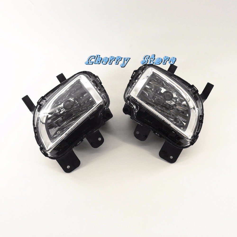 New VW OEM Front Clean Fog Lights Fog Lamps Pair For VW Golf GTI Jetta GLI MK6 MKVI 5K0 941 699 E \ 5K0 941 700 E tuke oem right front bumper fog lights for vw caddy jetta 6 golf mk6 eos touran tiguan 5kd 941 700 5k0 941 700 5kd941700