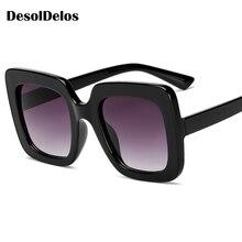 2019 Sunglasses Women Large Size Men Square Colorful Frame Vintage Big Retro Sun Glasses Female Male UV400