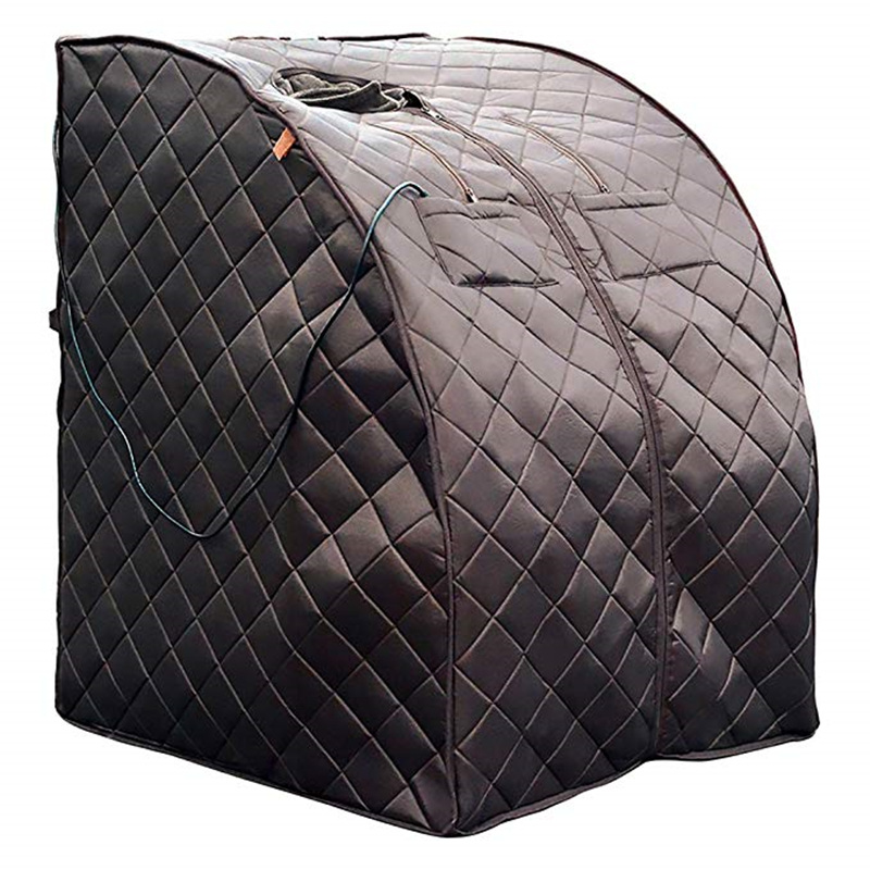 Portable Far Infrared Sauna Personal Folding Home Sauna Spa  Dry Portable Sauna Bath Carbon fiber plate heating Lose Weight-in Sauna Rooms from Home Improvement    1