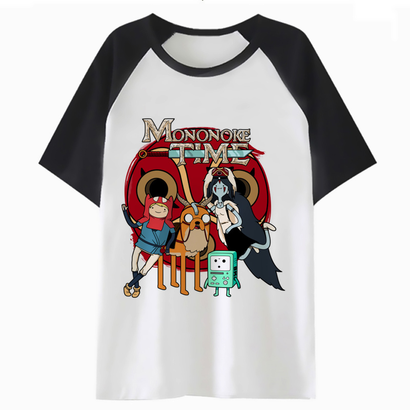 Adventure Time T Shirt Male Hip Harajuku Top Clothing Tee For Men T