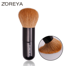ZOREYA Brand 2016 Natural Goat Hair Loose Powder Brush Liquid Foundation Brush  Multifunctional Beauty Cosmetic  Makeup Tool