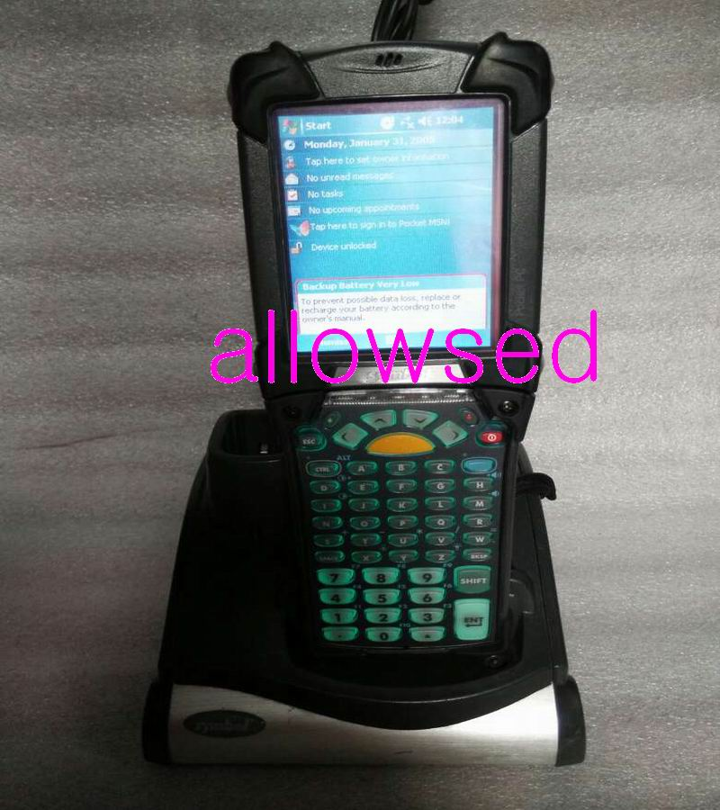 Symbol Mc9090 G Pda Handheld 2d Barcode Computer Scanner 53 Key 1d