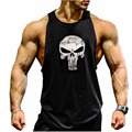 2016 Nuevos gimnasios Hombres Bodybuilding Stringer Oros Tank Top Sin Mangas camiseta chaleco masculino vetement homme Plus Tamaño M-2XL