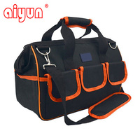 19 44x22x31cm Multifunctional Electrical Bag Tools Case Polyester Material Bag Electrician Canvas Tool Bag Toolkit