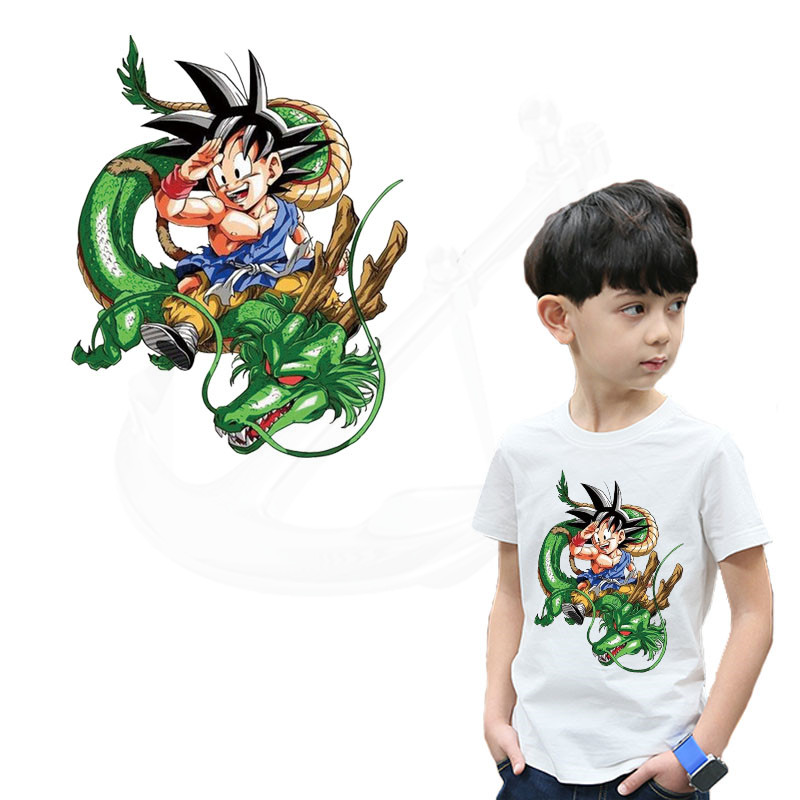 Entertainment Memorabilia Rock & Pop Honesty 3 Dragon Ball Z Goku Blue Patches For Backpack Diy Iron On Applique Japanese Anime Cosplay Full Embroidered For Clothing Diy