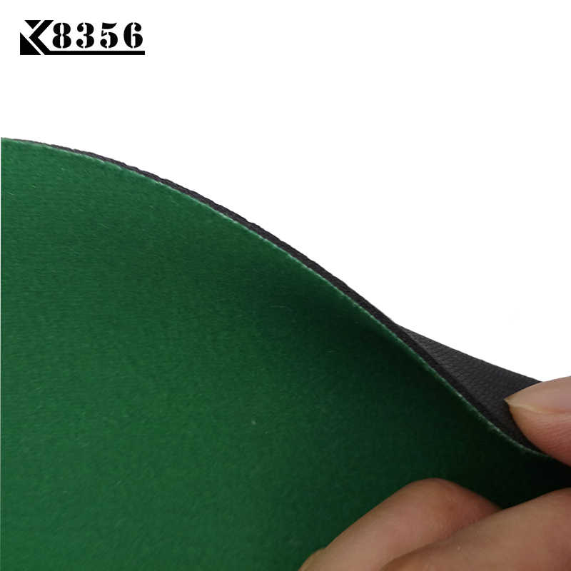 K8356 120*60cm Texas Hold'em Suede Rubber Blackjack Table Cloth 7 People Poker Table Tablecloth Waterproof Poker Table Game Mat