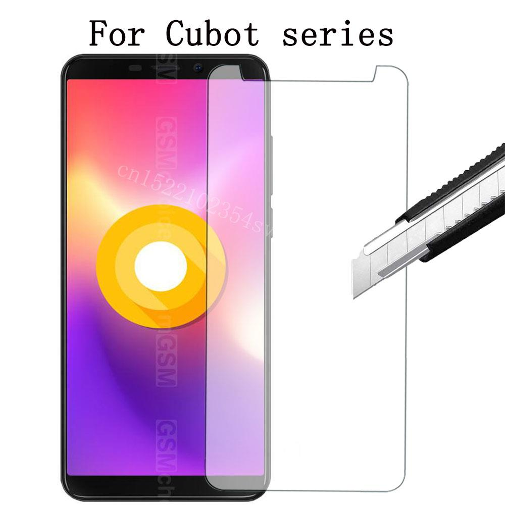 Tempered Glass for Cubot S168 Bobby Magic Note S X18 Plus Nova Power P12 S208 H3 Note plus T9 Zorro 001 Protective Film Screen(China)