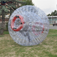 Factory price adult zorb ball inflatable bumper,commercial customized inflatable human size hamster ball for rental