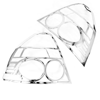 Chrome Styling Achterlicht Cover Trim voor Chevrolet Aveo T250 Sedan