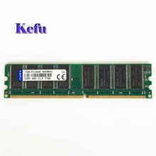 New 1GB DDR1 PC3200 DDR 400 Mhz Low density memory 2Rx8 CL3 DIMM Desktop Memory CL3