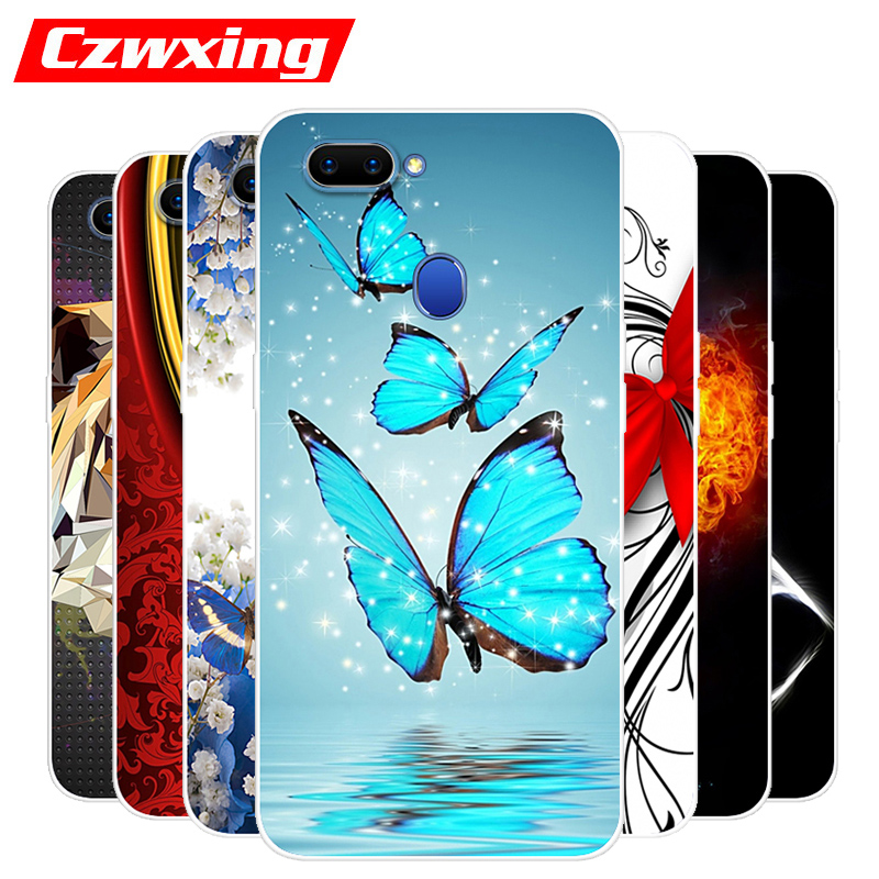 OPPO A5 Case OPPO A5 CPH1809 Case Silicone TPU Cover Soft Phone Case For OPPO A5 A 5 CPH1809 OPPOA5 Case Back Cover 6.2 inch