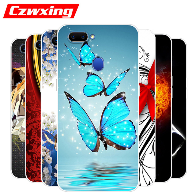 buy online 38401 5bdb0 US $1.23 20% OFF|OPPO A5 Case OPPO A5 CPH1809 Case Silicone TPU Cover Soft  Phone Case For OPPO A5 A 5 CPH1809 OPPOA5 Case Back Cover 6.2 inch-in ...