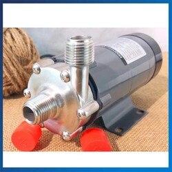 Насос с магнитным приводом из нержавеющей стали, высокотемпературный, для домашнего пивоварения, MP-15RM