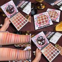 25 Color Eyeshadow Palette Makeup Maquiagem Palette Shimmer Matte Glitter Eyeshadow Pallete Smoky Earth Color Pigment Cosmetic цена и фото