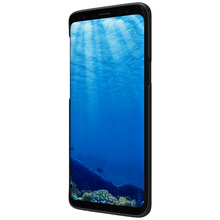 Phone Cases Samsung Galaxy s9/ plus Nillkin Black Frosted Shield Matte Hard Case Bag Cover Free Screen Protecter