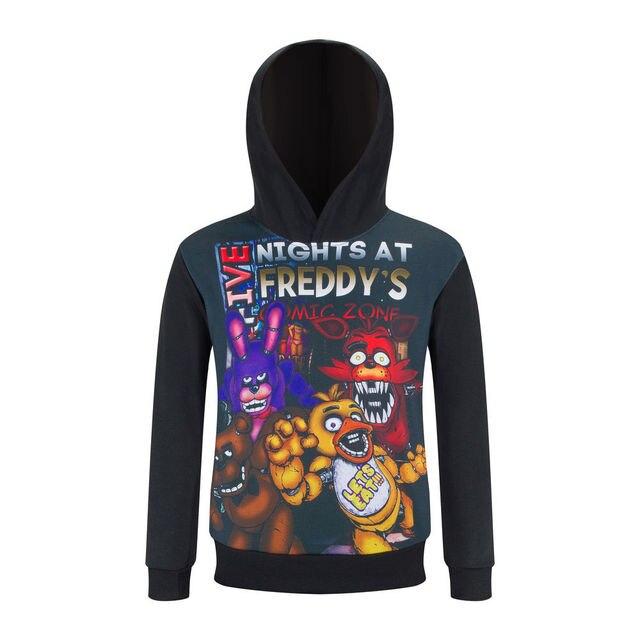 New Cartoon Character Print Coat 3-10Y Children Hoodies Full Sleeve Pullover Jacket Spring Sweatshirts For Boys Girls AH-1602