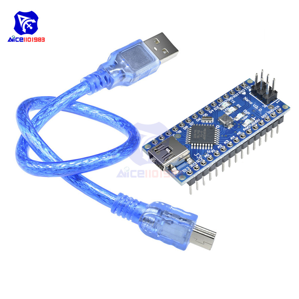 Nano V3.0 3.0 Mini USB Driver ATmega328 ATmega328P FT232RL 5 V 16 M Micro Controller Board per Arduino Originale FT232RL ISP
